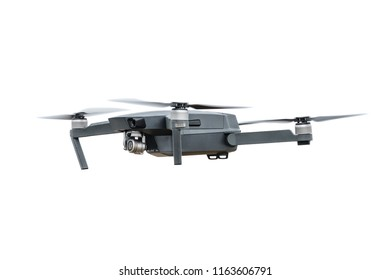 quadrocopter isolated on white background