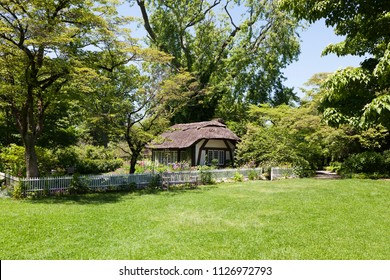 Quaint cottage in the gardens