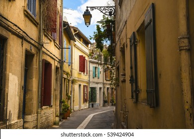 Quaint street , Arles