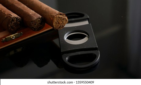 Quality cigars and cigar cutters