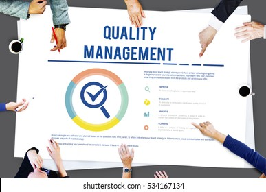 Quality Management Warranty Standard Concept