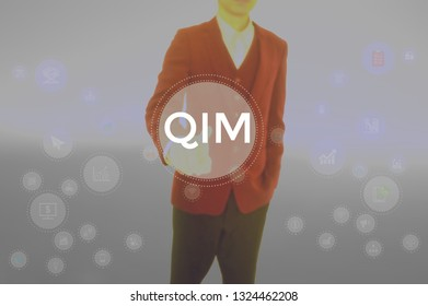Quantitative Investment Management - business concept