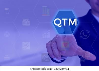 Quantitative Trust Management - business concept