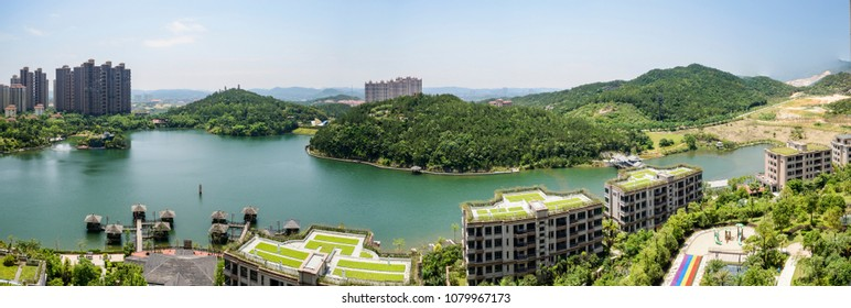 Quanzhou Huian Julong Town Lake Scenery