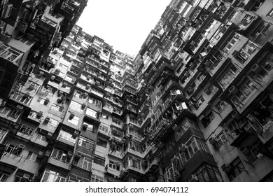 Quarry Bay, Hong Kong - October 25, 2016 : Montane mansion is a place that once Tranformers : Age of extinction filmed hear.
