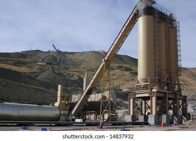 Quarry & bitumen plant