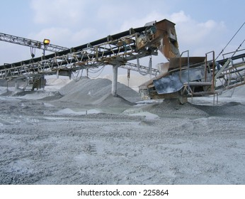 quarry conveyor belt