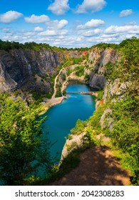 Quarry Velka Amerika located in the Czech Republic