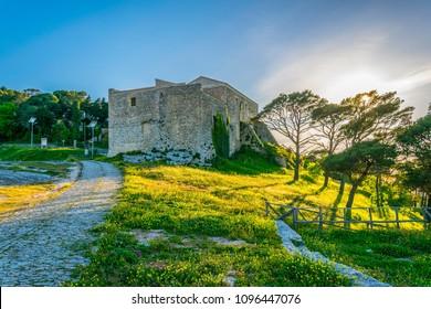 Quartiere Spagnolo in Erice, Sicily, Italy