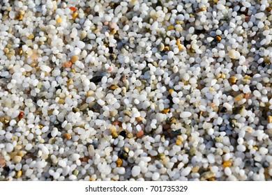 quartz beach, Is Arutas. Sardinia, Italy