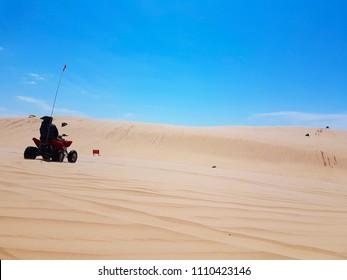 Quat at Silver Lake Dunes
