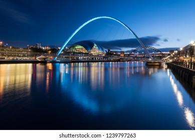 Quayside Beauty -Millennium Bridge