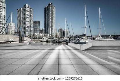 Quayside Marina of vancouver.