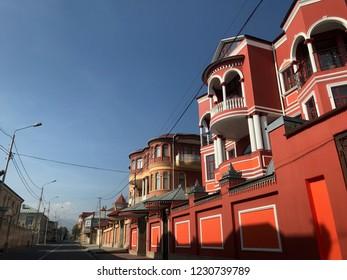Quba House Azerbaijan Red Building