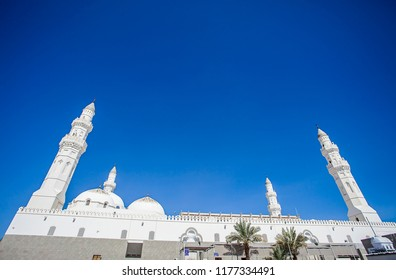 Quba / Kuba Mosque, the first mosque that built in Medina by the prophet Muhammad.