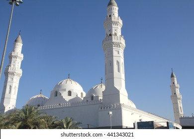 Quba' Mosque, Kingdom of Saudi Arabia.