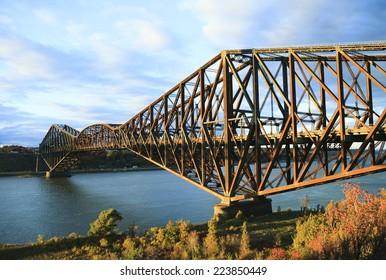Quebec city bridge Canada
