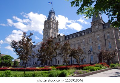 QUEBEC CITY, CANADA - AUGUST 25 2010: National Assembly of Quebec (French: Assemblee nationale du Québec) is the legislative body of the province of Quebec in Canada.