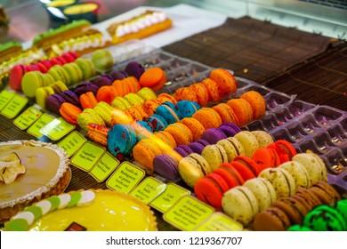 Quebec City, Canada - September 27, 2018: Products on sale in the old port market, in Quebec City, Quebec, Canada
