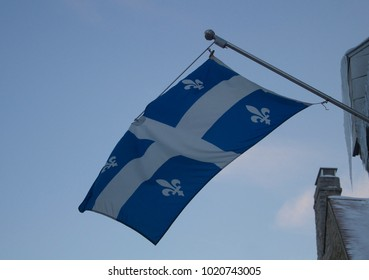 Fleurdelisé, the Quebec Flag