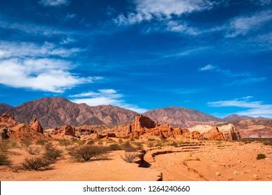 """""""Quebrada de las Conchas"""" province of Salta in Argentina"""