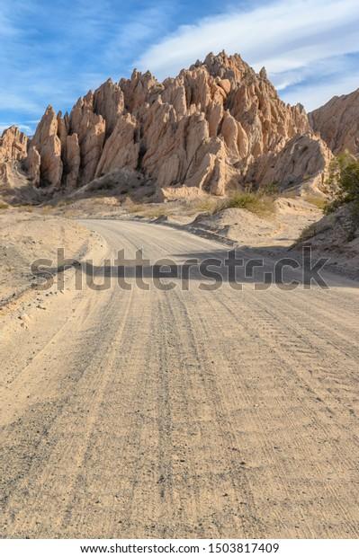 Quebrada de Las Flechas at Ruta 40 between Cafayate and Cachi, Argentina
