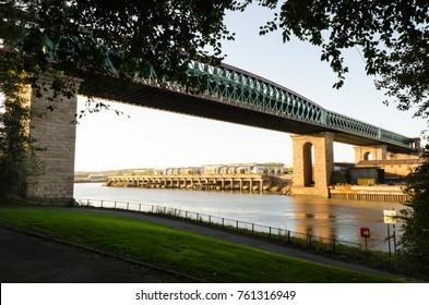 Queen Alexandra Bridge (1909), spanning the River Wear in Sunderland