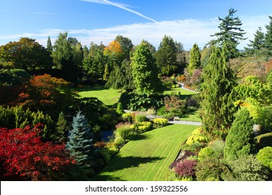 Queen Elizabeth park in Vancouver, Canada