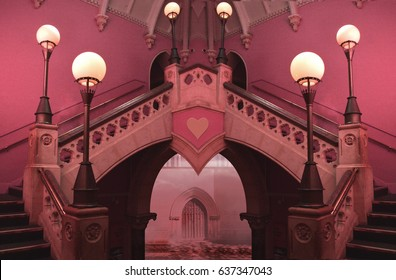 queen of hearts palace interior