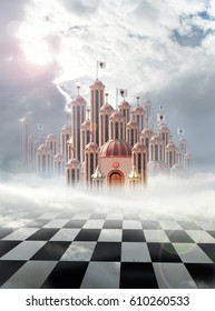 queen of hearts palace in wonderland