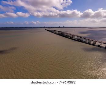 Queen Isabella Causeway Bridge Images, Stock Photos