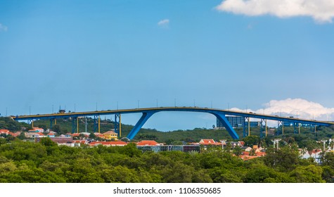 Queen Juliana Bridge Over Curacao