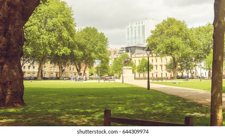 Queen Square A Bristol England, Horizontal Photography
