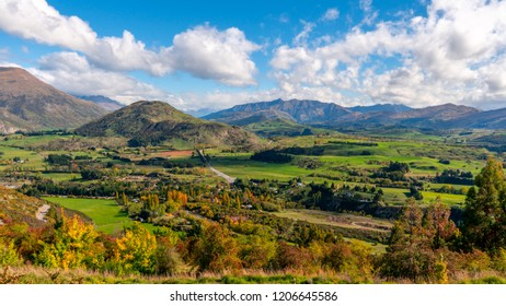 Queen town in Autumn at New Zealand
