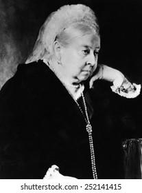 Queen Victoria (1819-1901), Queen of the United Kingdom 1837-1901, c. 1897.