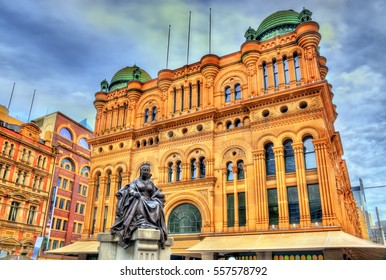 Queen Victoria Building in Sydney, built in 1898. Australia, New South Wales