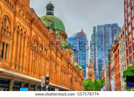 Queen Victoria Building in