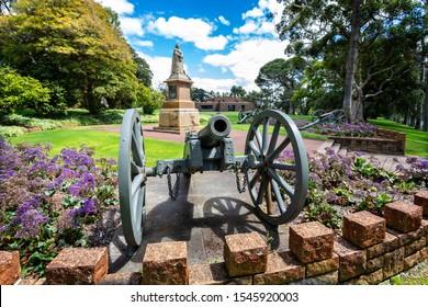 Queen Victoria memorial in Kings Park, Perth, Australia on 25 October 2019