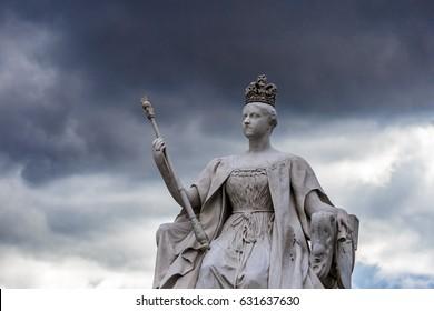 Queen Victoria monument near Kensington Palace