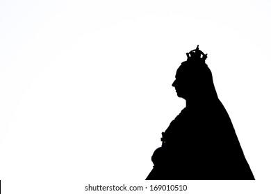 Queen Victoria Silhouette
