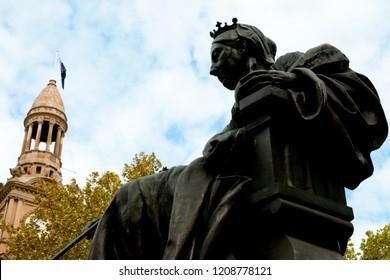 Queen Victoria Statue - Sydney - Australia