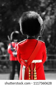 Queen's Soldier at Queen's Birthday Parade, 2018