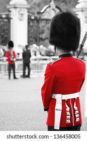 Queen's Soldier at Queen's Birthday Parade.