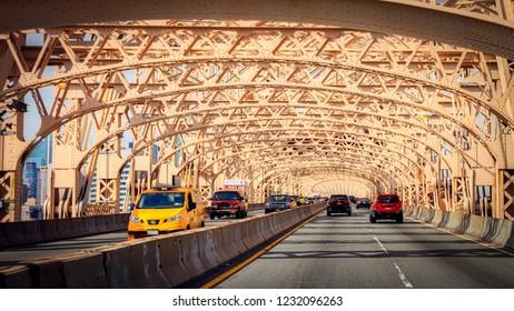 queensboro bridge scene