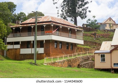 Queensland, Australia – January 26, 2015: The historic mining town of Irvinebank on the Atherton Tableland in Queensland, Australia