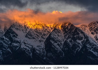 Queenstown mountains - The Remarkables