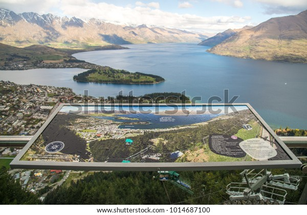 Queenstown New Zealand September252017 Map View Stock Photo ... on canterbury new zealand map, new zealand earth map, doubtful sound new zealand map, auckland new zealand map, paihia new zealand map, punakaiki new zealand map, new zealand towns map, wanaka new zealand map, marahau new zealand map, queensland new zealand map, queenstown nz, wellington new zealand map, mount ruapehu new zealand map, new zealand tourist map, waiotapu new zealand map, christchurch new zealand map, queentown new zealand map, waikato new zealand map, matamata new zealand map, new zealand climate map,