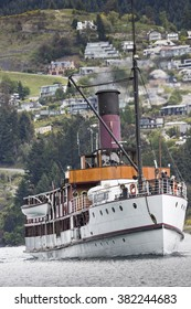 QUEENSTOWN, NZ - NOV 12:TSS Earnslaw on November 15 2014.It's one of the oldest tourist attractions in Otago