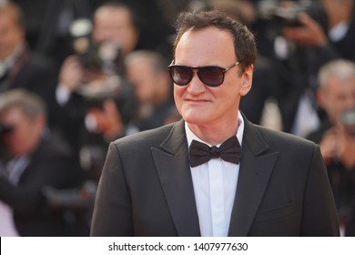 "Quentin Tarantino   attends the closing ceremony screening of ""The Specials"" during the 72 Cannes Film Festival on May 25, 2019 in Cannes, France."