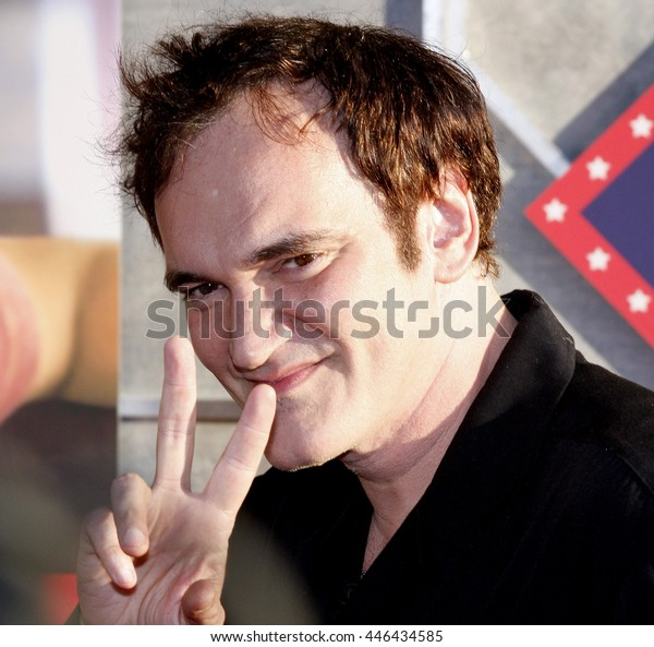 Quentin Tarantino at the World premiere of 'Swing Vote' held at the El Capitan Theater in Hollywood, USA on July 24, 2008.
